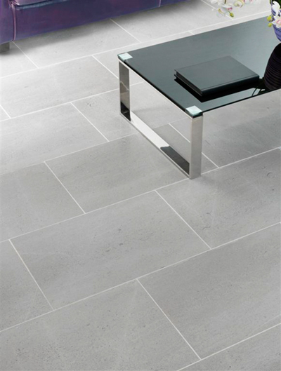 Carrelage gris brillant saint marlou for Carrelage sol gris clair